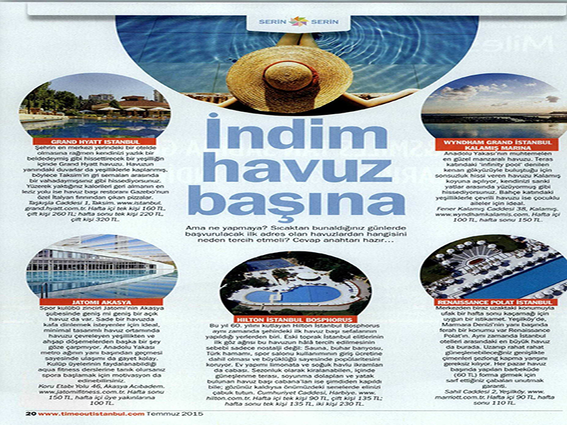Time Out - Temmuz 2015