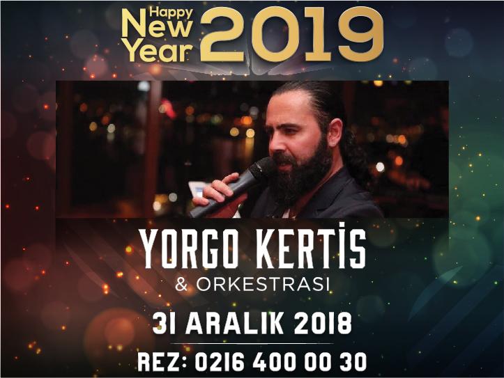 Yorgo Kertis Yılbaşı Gala Yemeği