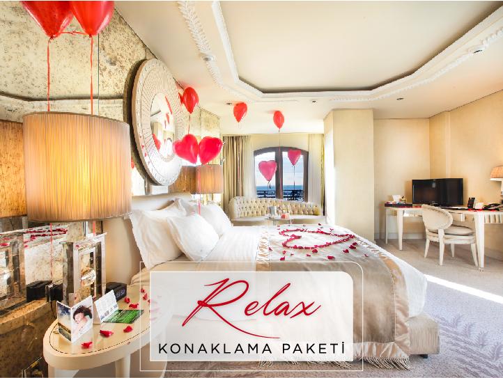 Sevgililer Günü Relax Konaklama Paketi